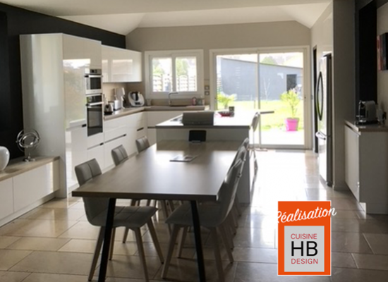 perspective de la cuisine HB design